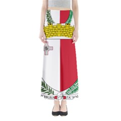Coat Of Arms Of Malta  Maxi Skirts