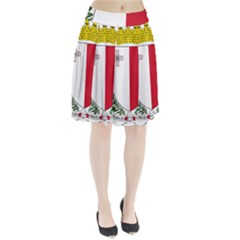 Coat Of Arms Of Malta  Pleated Skirt