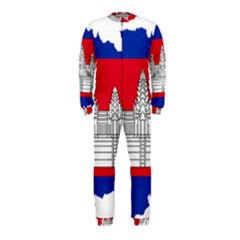 Flag Map Of Cambodia OnePiece Jumpsuit (Kids)