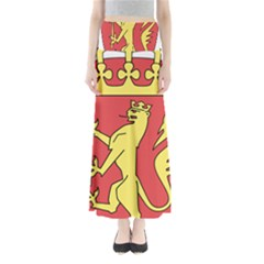 Coat Of Arms Of Norway  Maxi Skirts
