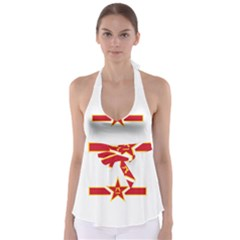 Roundel Of The People s Liberation Army Air Force Babydoll Tankini Top