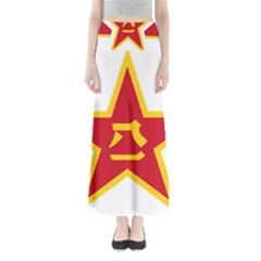 Roundel Of The People s Liberation Army Air Force Maxi Skirts