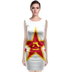 Roundel Of The People s Liberation Army Air Force Classic Sleeveless Midi Dress