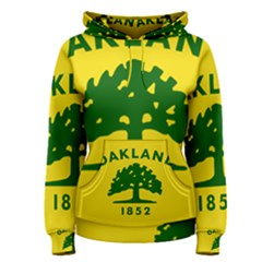 Flag Of Oakland, California Women s Pullover Hoodie