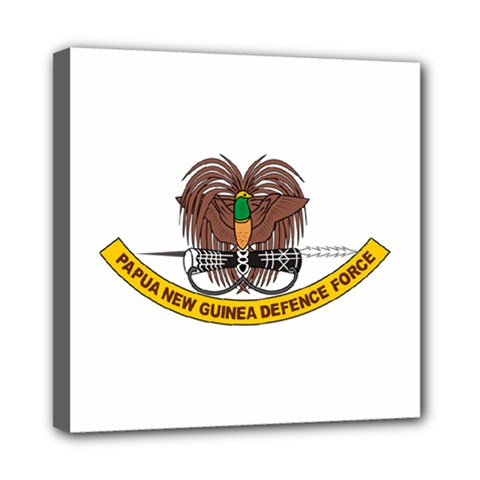 Papua New Guinea Defence Force Emblem Mini Canvas 8  x 8