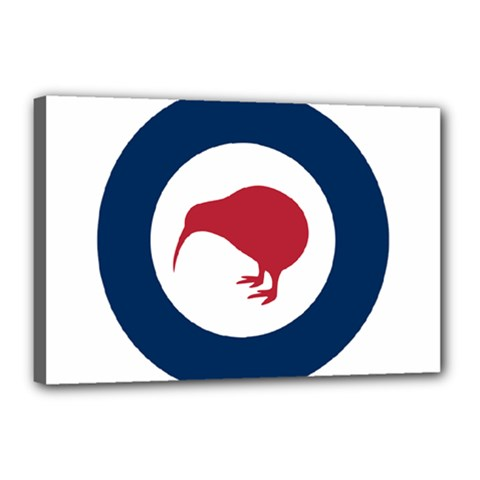 Roundel Of New Zealand Air Force Canvas 18  x 12