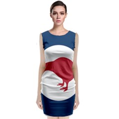 Roundel Of New Zealand Air Force Classic Sleeveless Midi Dress