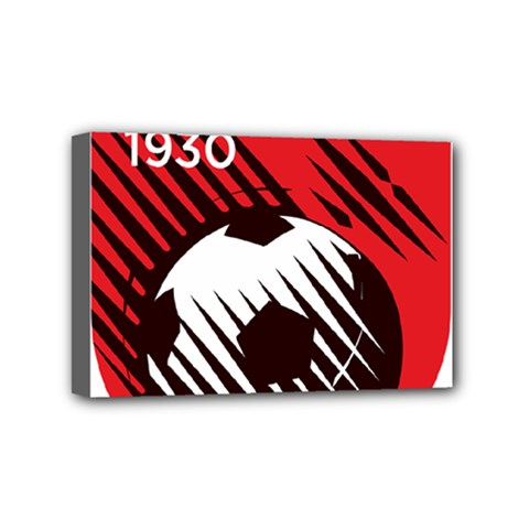 Crest Of The Albanian National Football Team Mini Canvas 6  X 4