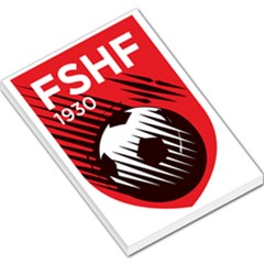 Crest Of The Albanian National Football Team Large Memo Pads