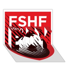 Crest Of The Albanian National Football Team Boy 3d Greeting Card (7x5)
