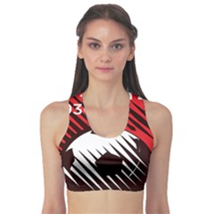 Crest Of The Albanian National Football Team Sports Bra