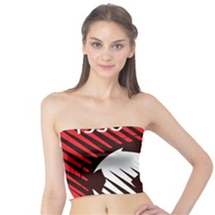 Crest Of The Albanian National Football Team Tube Top