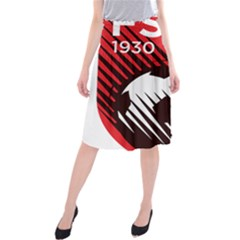 Crest Of The Albanian National Football Team Midi Beach Skirt