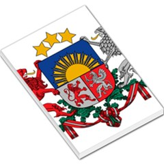 Coat Of Arms Of Latvia Large Memo Pads