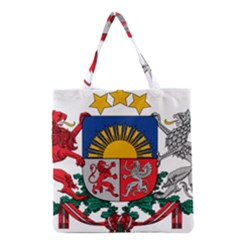 Coat Of Arms Of Latvia Grocery Tote Bag