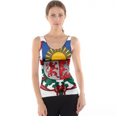 Coat Of Arms Of Latvia Tank Top