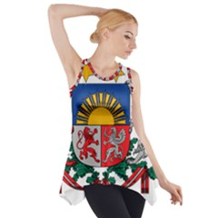Coat Of Arms Of Latvia Side Drop Tank Tunic