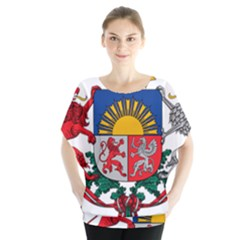 Coat Of Arms Of Latvia Blouse
