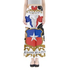 Coat Of Arms Of Chile  Maxi Skirts