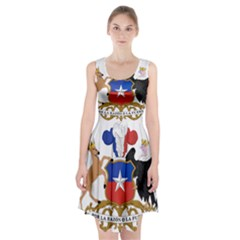 Coat Of Arms Of Chile  Racerback Midi Dress