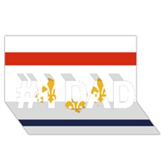 Flag Of New Orleans  #1 DAD 3D Greeting Card (8x4)