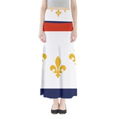 Flag Of New Orleans  Maxi Skirts