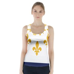 Flag Of New Orleans  Racer Back Sports Top