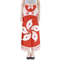 Emblem Of Hong Kong  Maxi Skirts