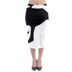 Roundel Of Australian Army Aviation Midi Pencil Skirt