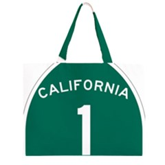 California 1 State Highway   Pch Large Tote Bag