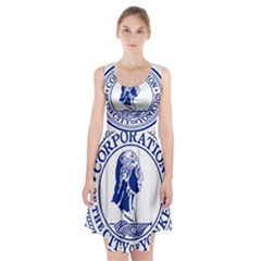 Seal Of Yonkers, New York  Racerback Midi Dress