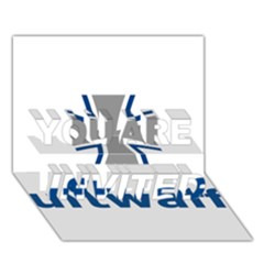 Luftwaffe YOU ARE INVITED 3D Greeting Card (7x5)