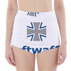 Luftwaffe High-Waisted Bikini Bottoms