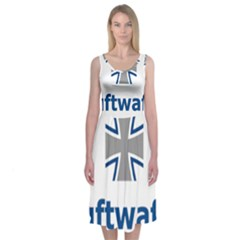Luftwaffe Midi Sleeveless Dress