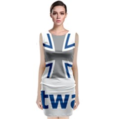 Luftwaffe Classic Sleeveless Midi Dress