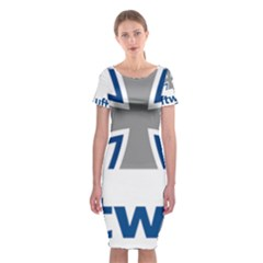 Luftwaffe Classic Short Sleeve Midi Dress
