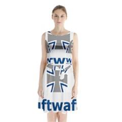 Luftwaffe Sleeveless Waist Tie Dress