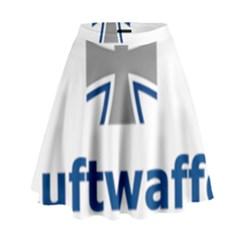 Luftwaffe High Waist Skirt