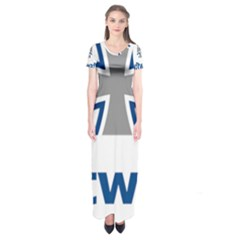 Luftwaffe Short Sleeve Maxi Dress