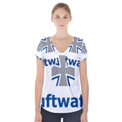 Luftwaffe Short Sleeve Front Detail Top