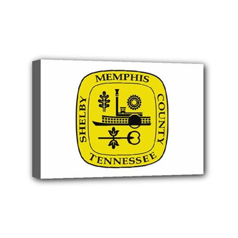 Seal Of Memphis  Mini Canvas 6  X 4