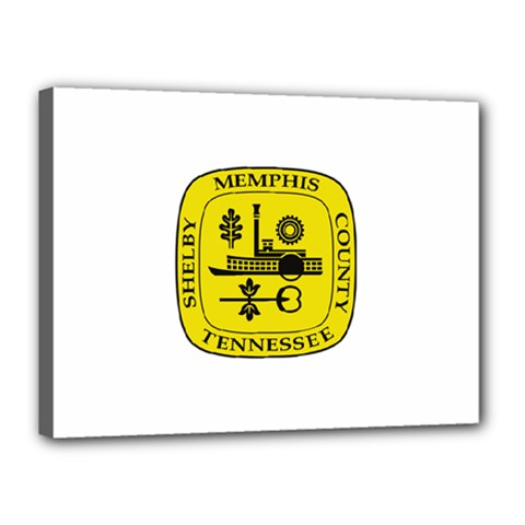 Seal Of Memphis  Canvas 16  X 12