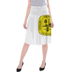 Seal Of Memphis  Midi Beach Skirt