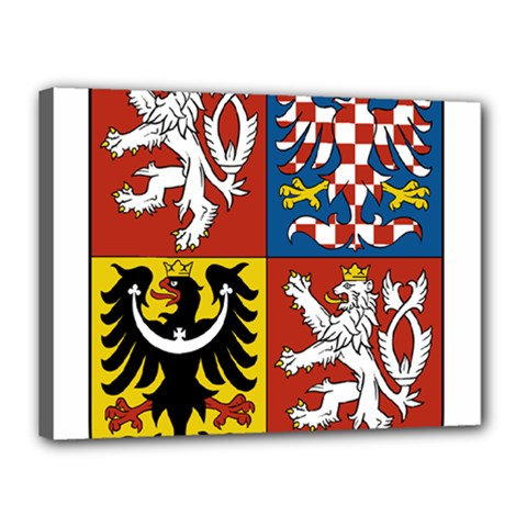 Coat Of Arms Of The Czech Republic Canvas 16  x 12
