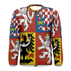 Coat Of Arms Of The Czech Republic Men s Long Sleeve Tee