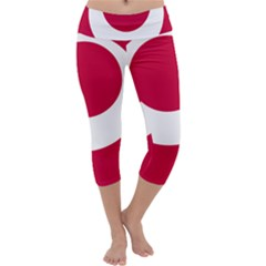 Emblem Of Okinawa Prefecture Capri Yoga Leggings