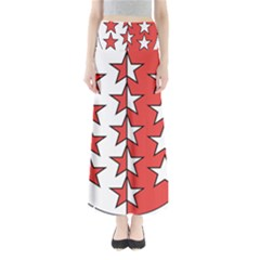 Coat Of Arms Of Valais Canton Maxi Skirts