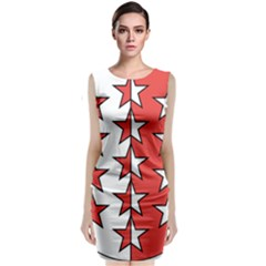 Coat Of Arms Of Valais Canton Classic Sleeveless Midi Dress