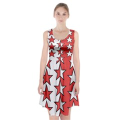 Coat Of Arms Of Valais Canton Racerback Midi Dress