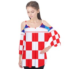Coat Of Arms Of Croatia Flutter Tees